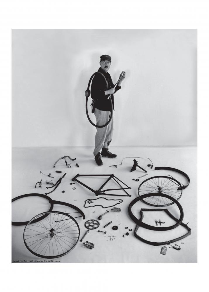 Le vélo de Tati, 1949