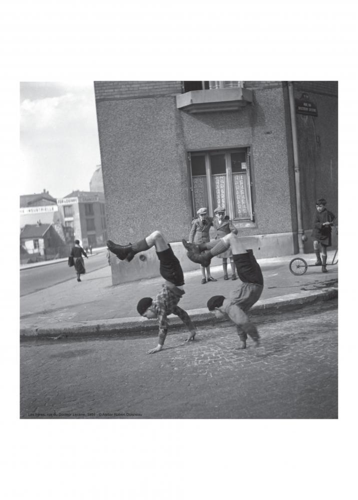 Les frères, rue du Docteur Lecène, 1934