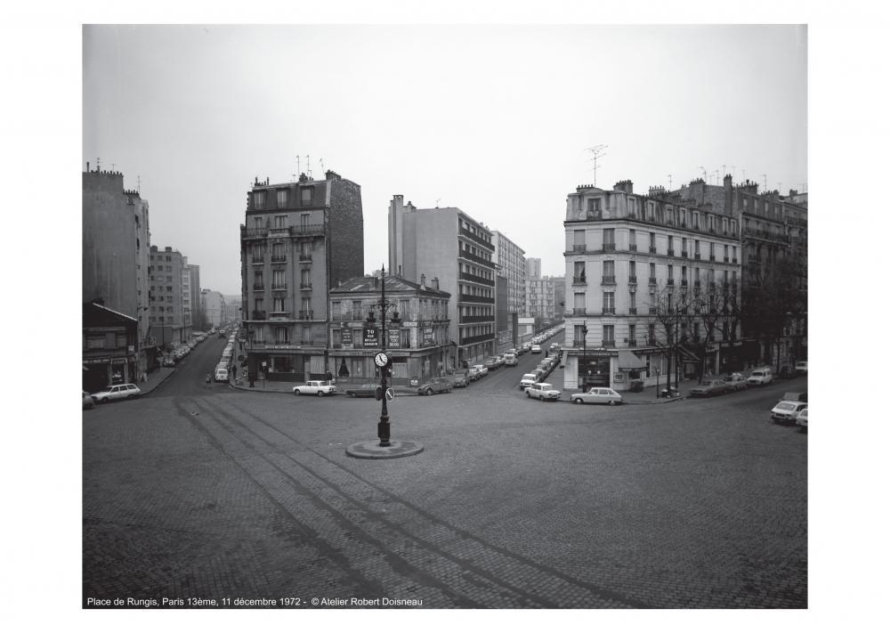 Place de Rungis, Paris 13ème, 11 décembre 1972