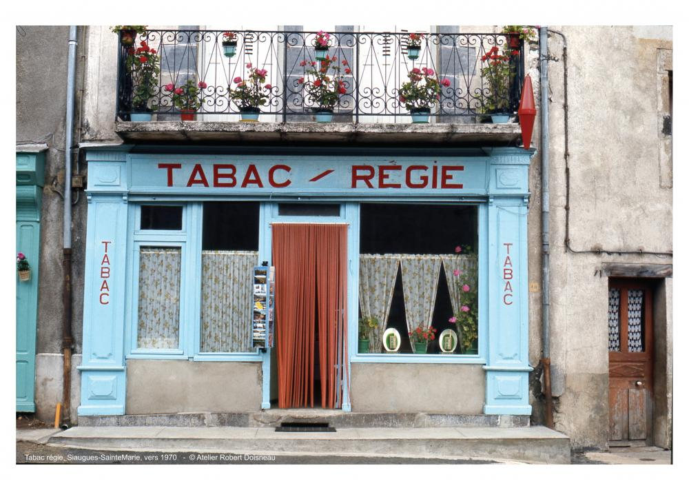 Tabac régie, Siaugues-SainteMarie, vers 1970